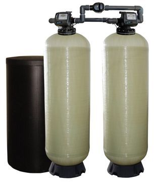 "Series EWS 2.0"" M Duplex Commercial Water Softener"