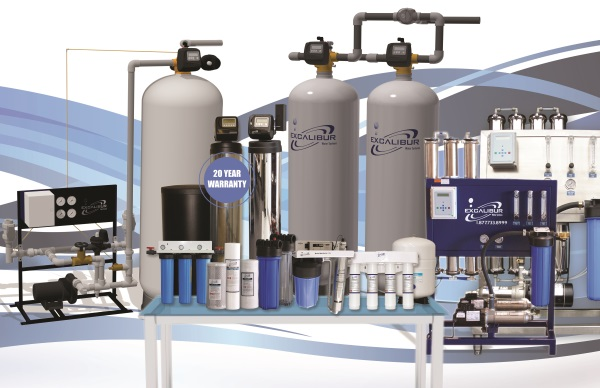 Residential, Commercial, and Industrial Water treatment products and systems
