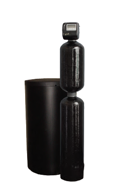 Image of combined water softener and chemical removal filter