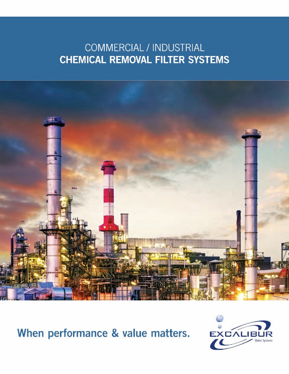 Excalibur commercial chemical removal filters brochure