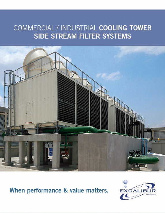 Excalibur commercial cooling tower sidestream filters brochure