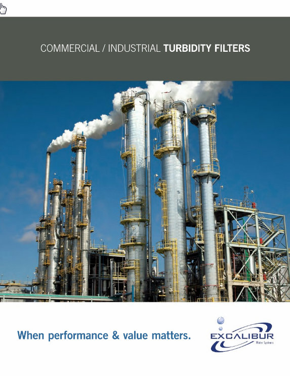 Excalibur commercial turbidity filter systems brochure