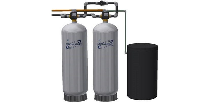 Excalibur commercial water softener system