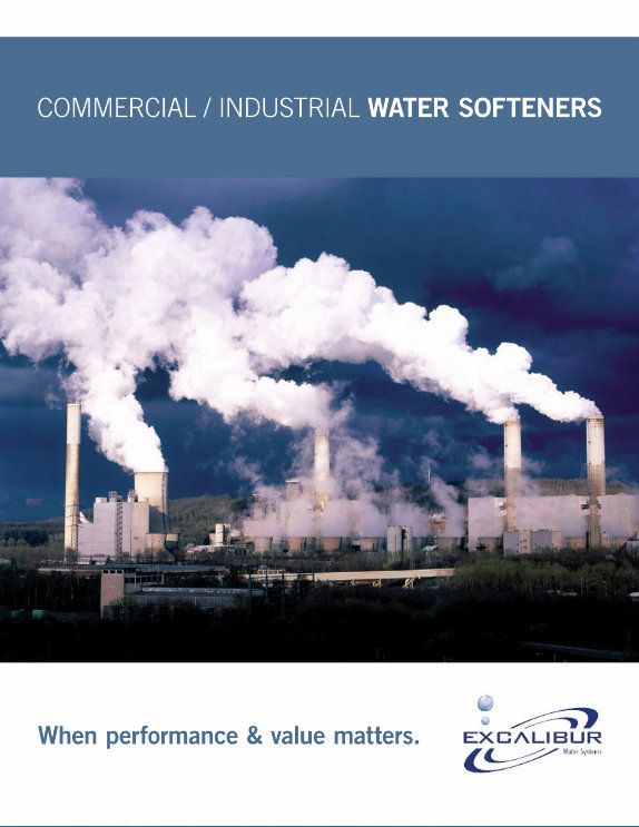 Excalibur commercial water softeners brochure