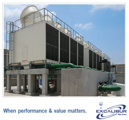 WHY DO COOLING TOWERS REQUIRE FILTRATION?