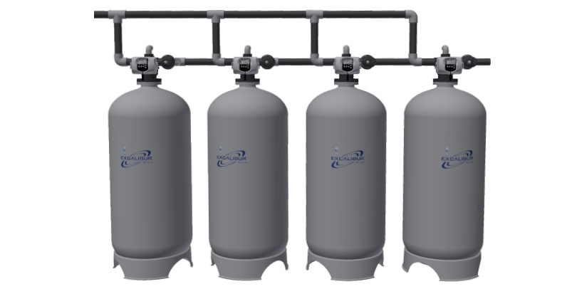 Excalibur industrial water filtration system