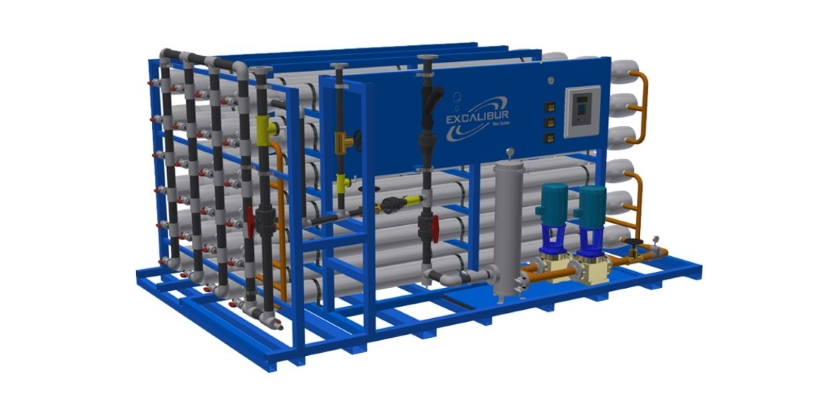 Excalibur industrial reverse osmosis system