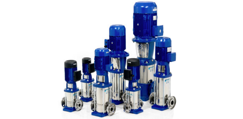 industrial water distribution pumps