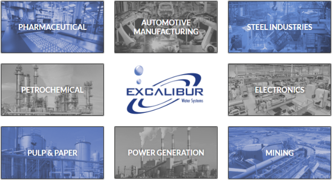Excalibur industrial applications