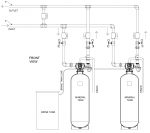Model: EWS SD3300 Commercial/Industrial Water Softener