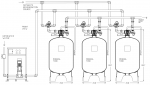 Controlled Regeneration Cooling Tower Side Stream 5-Micron Triplex Filter System